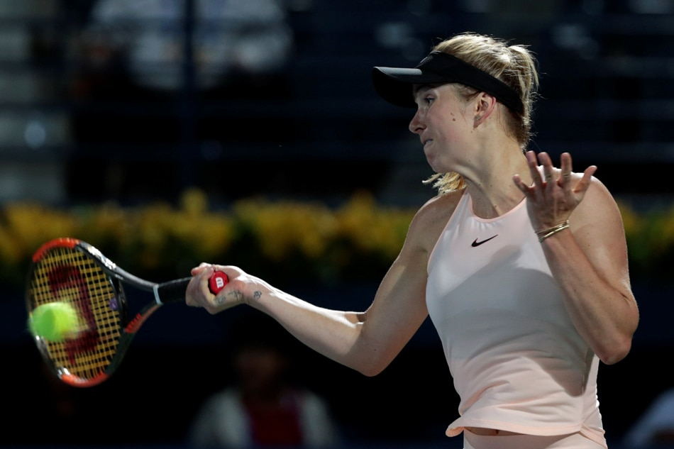 Svitolina made it to the finals of a major tournament in Dubai