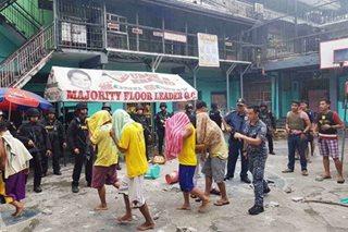 9 preso, 1 pulis sugatan sa riot sa Quezon City Jail