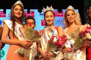 Beauty queens congratulate Sophia Senoron on Miss Multinational win