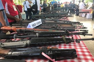 Military is 'main source' of loose firearms in Mindanao: MILF chair