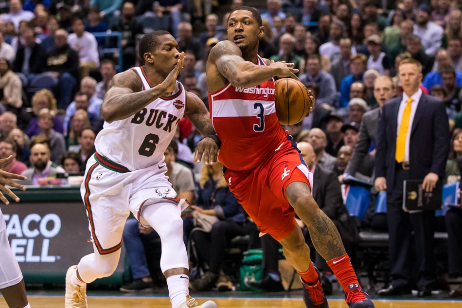 NBA Tuesday: Washington Wizards at Milwaukee Bucks