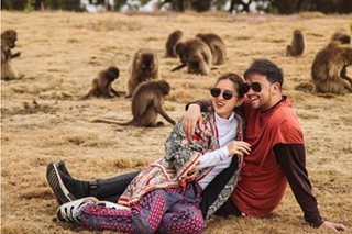 'This pic is insane': Billy shares prenup photo with Coleen in Ethiopia