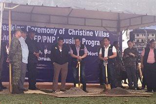 Duterte leads groundbreaking of new AFP-PNP housing site in Lanao del Norte