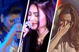 Ready your tissue: 8 stars who cried while singing onstage
