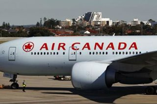 Cell phone catches fire onboard Canada flight