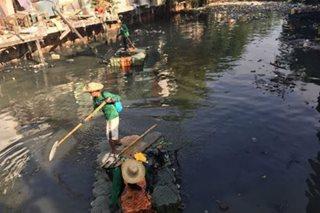 Estero sa Maynila, nilinis ng Pasig River Rehabilitation Commission