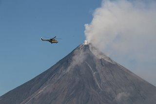 Fresh activity at Mayon, alert stays at level 3