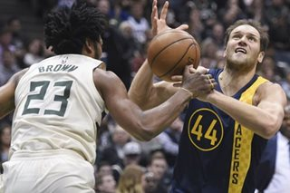 NBA: Pacers hold back Bucks