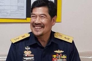 PCG: Diño may face raps for wearing uniform of 'fake' Coast Guard group