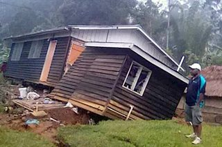 Magnitude 6.0 aftershock rattles quake-hit Papua New Guinea Highlands