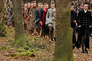 Chanel attacked for felling trees for Paris fashion show