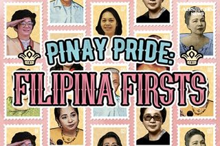 Filipina firsts — from presidents to commercial pilots