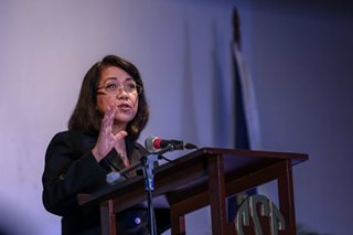 Sereno: Shift to federalism may bring about authoritarianism