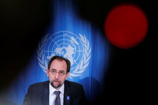 An advice from U.N. CHR chief