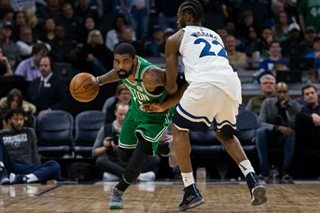 NBA: Celtics down Wolves, seal playoff berth