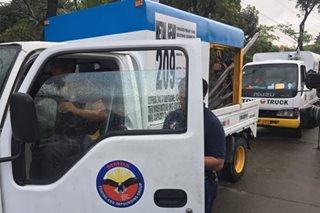 MMDA enforcers sinita ang 2 nilang tow truck sa QC