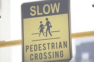 Breadwinner, nabundol sa pedestrian crossing, di makalakad