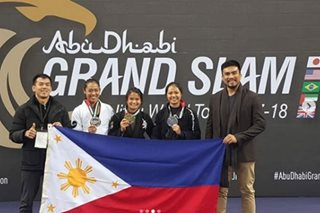 Filipina grappler Meggie Ochoa bags gold in London