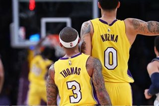 NBA: Lakers rally to hold off Nuggets