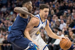 NBA: Warriors lose Thompson to fractured right thumb