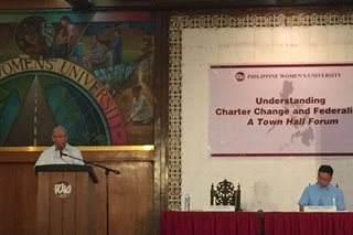 Charter change may turn the Philippines into a province of China, says ex-SolGen