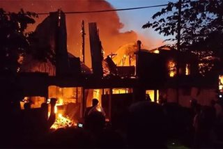 Fire hits residential area in Lapu-Lapu City
