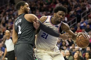 NBA: Embiid, Simmons post double-doubles as Sixers hold off Nets