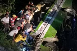 At least 19 dead in Occidental Mindoro bus crash