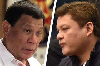 Duterte: Paolo back to business after resignation