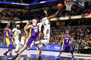 Turner, Oladipo lead Pacers past Lakers
