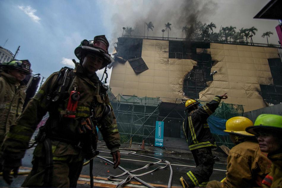 Did welding cause Manila Pavilion fire? Probe still on, says BFP 1