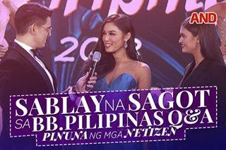 Sablay na sagot sa Bb. Pilipinas Q&A, pinuna ng mga netizen