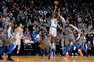 Morris hits game-winning 3 as Celtics stun Thunder