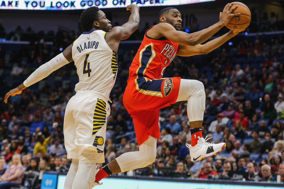 Pelicans hang on to top Pacers in make-up game, 96-92