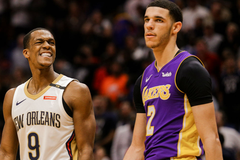 Davis, Rondo, push Pelicans past Lakers, 128-125