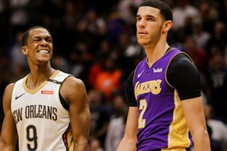 NBA: Pelicans win fourth straight in comeback over Lakers