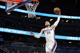 NBA: Shoulder injury to sideline Sixers' Simmons
