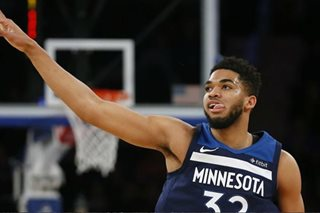 NBA star Towns tests positive for COVID-19