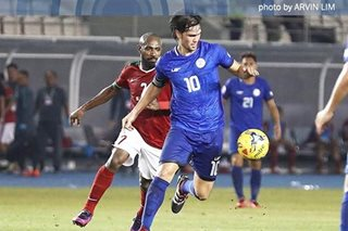 Football: Azkals escape with draw vs Oman in friendly