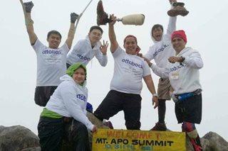 Disabilidad 'di hadlang sa pag-akyat sa tuktok ng Mt. Apo