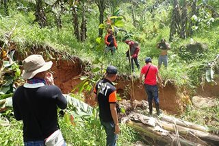 14 pamilya sa Sogod, S. Leyte inilikas dahil sa malalaking bitak sa lupa