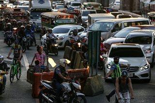 Trapik sa Metro Manila sisikip Linggo hanggang Lunes - MMDA