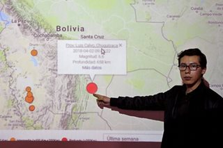 Strong, deep quake rocks Bolivia, shakes buildings in Brazil