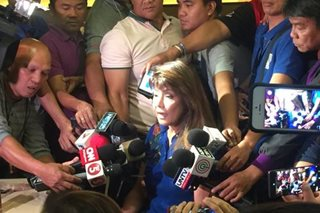 Imee Marcos hits Robredo camp for downplaying missing audit logs