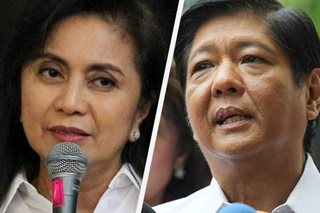 Missing or misinformed? Robredo, Marcos lawyers disagree on audit logs