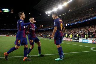 Barcelona secure big win as Roma self-destruct