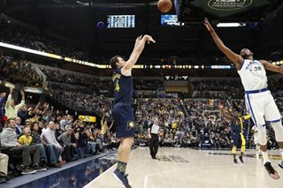 NBA: Bogdanovic scores 28 as Pacers beat Warriors