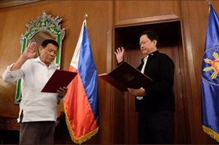 'Do what is right,' Duterte tells new justice secretary