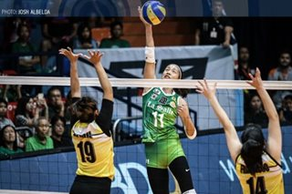 UAAP volleyball: La Salle nears semis bonus by sweeping UST