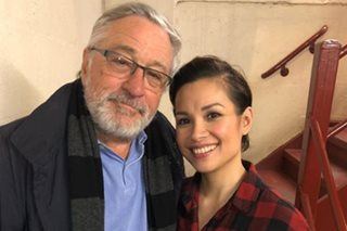 LOOK: Lea thanks Robert de Niro for watching 'Once on This Island'